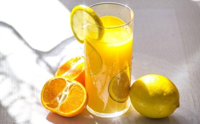 sok z naturalnym kwasem askorbinowym