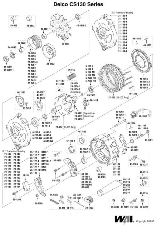 Wiring Diagram For Delco Alternator
