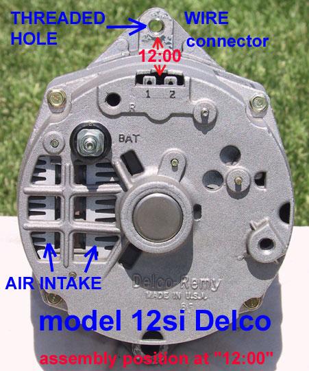 Ac Delco 3 Wire Alternator