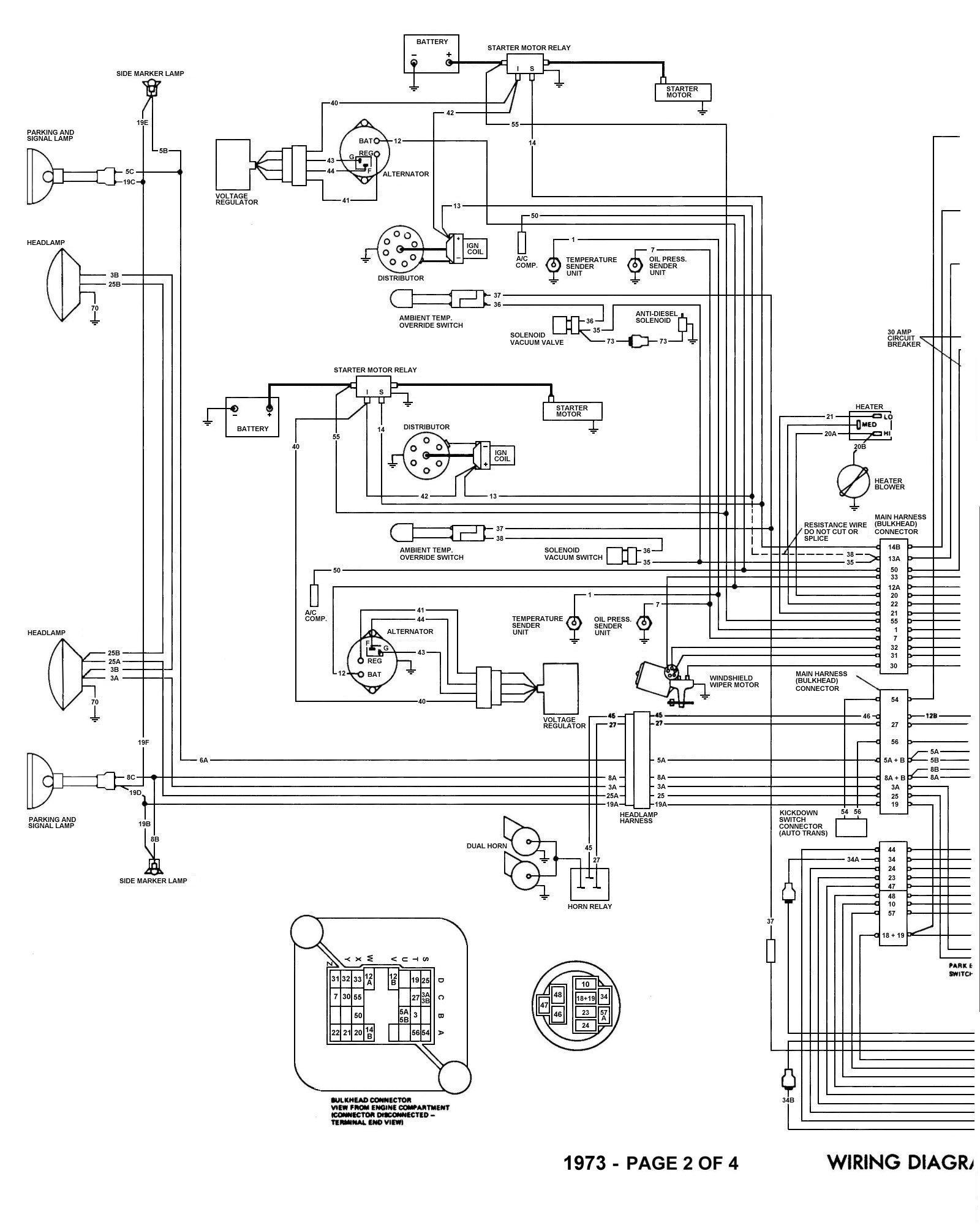 73 jeep wagoneer wiring diagram