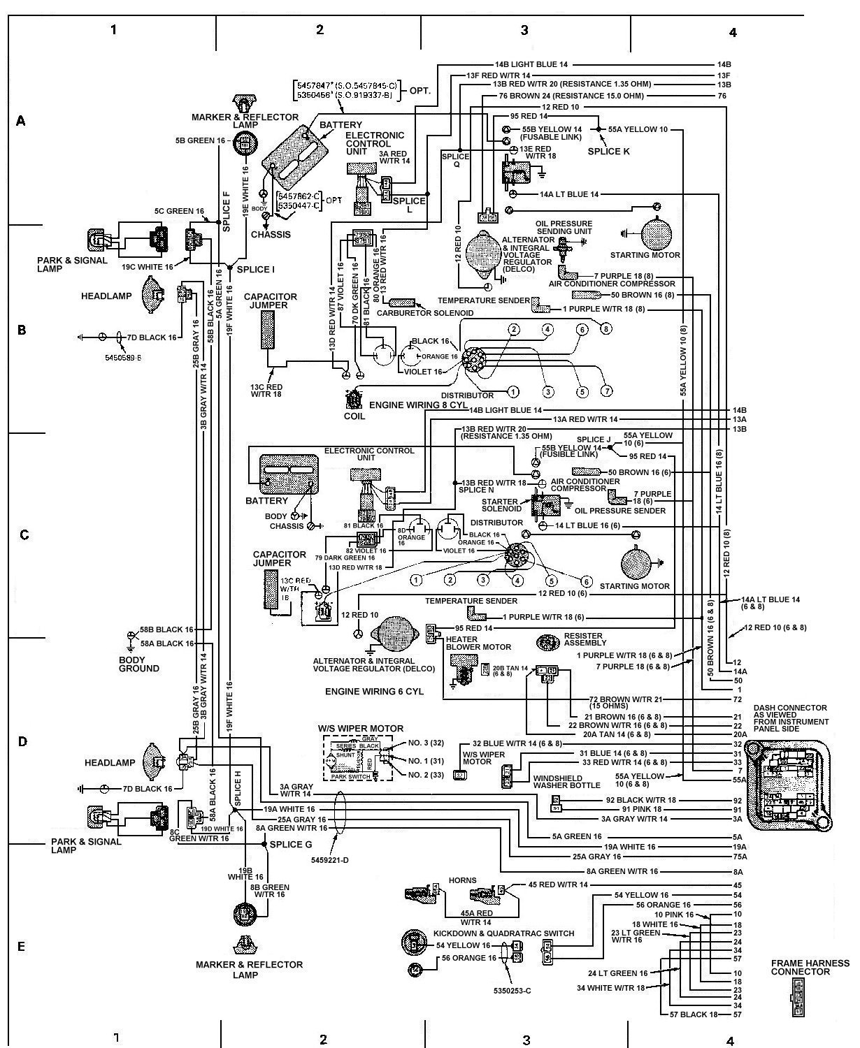 hight resolution of 87 jeep wrangler wiper motor wiring diagram