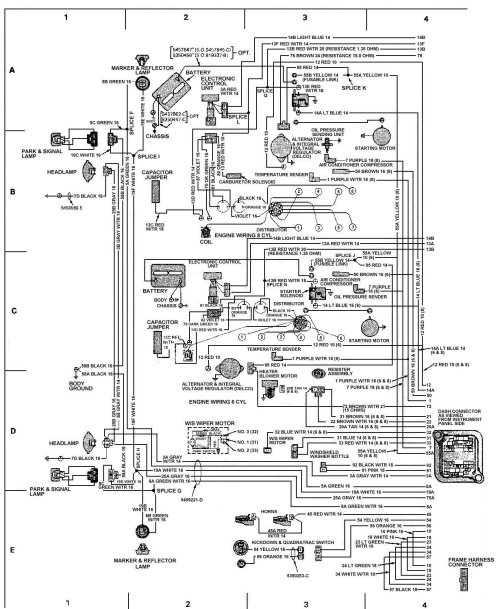 small resolution of 87 jeep wrangler wiper motor wiring diagram