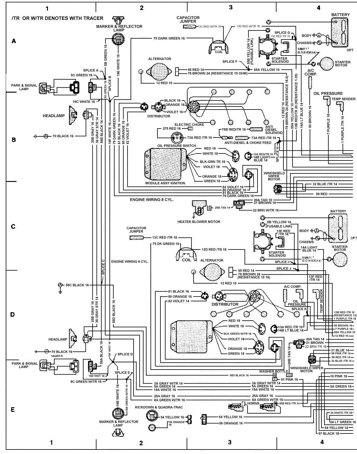 Wire Schematic For Cj5