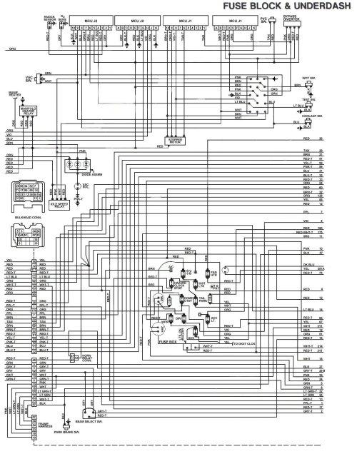 small resolution of 1973 camaro fuse block diagram