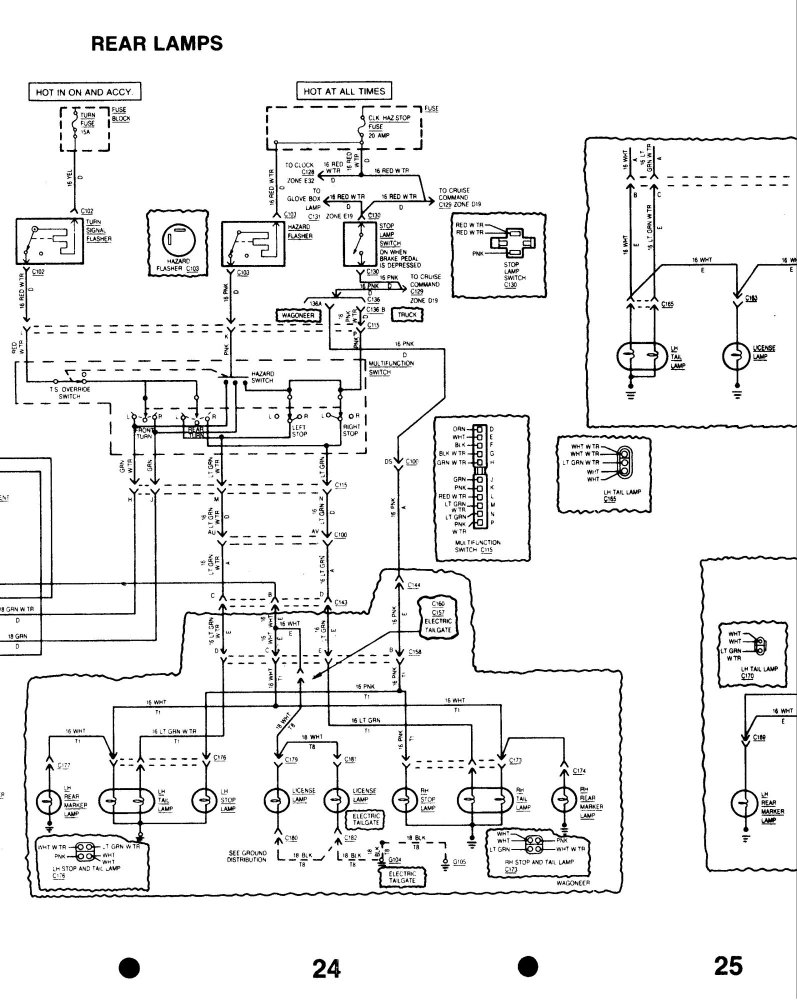 willys jeep restoration wiring diagrams