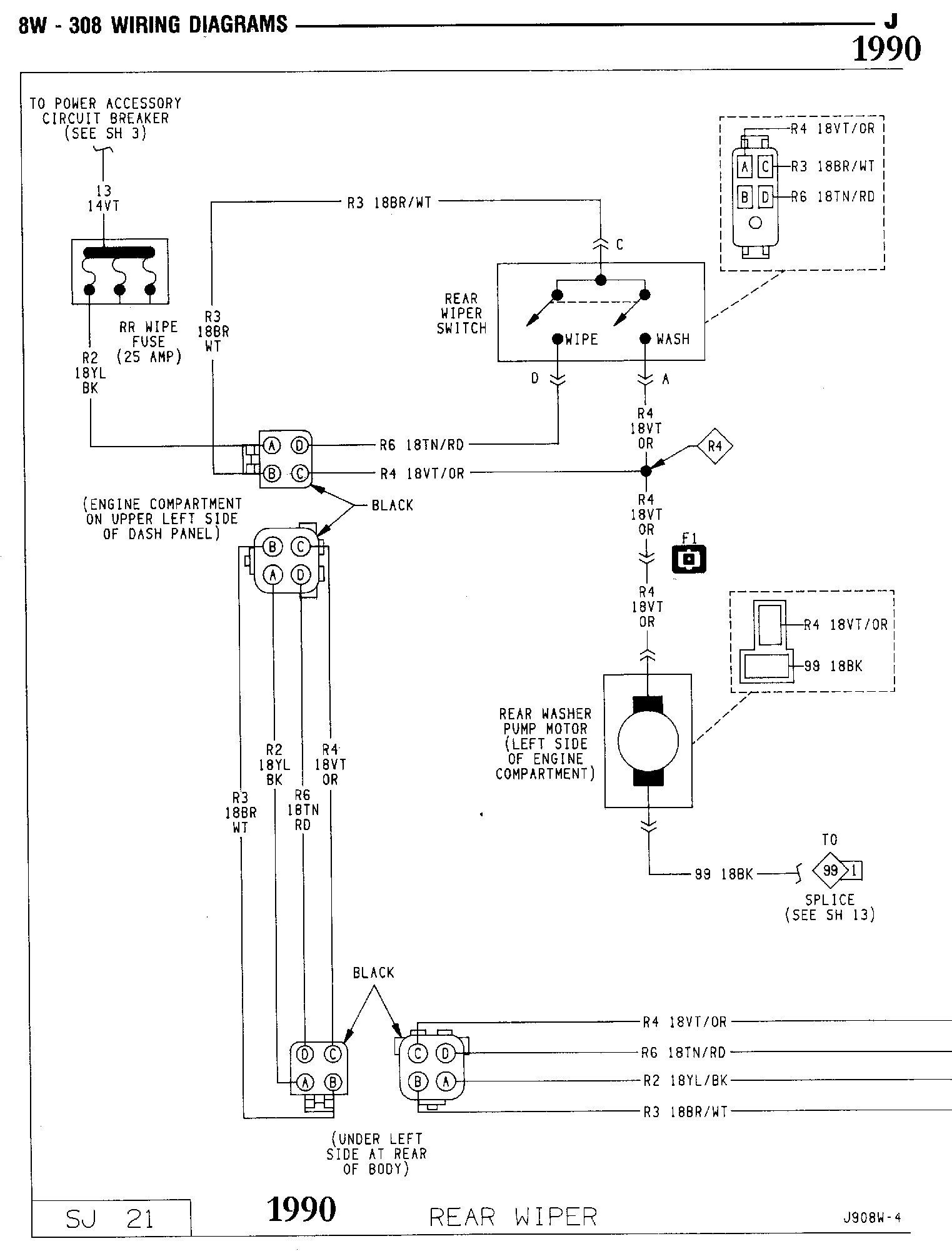 'Oljeep' FSJ Wiring Page