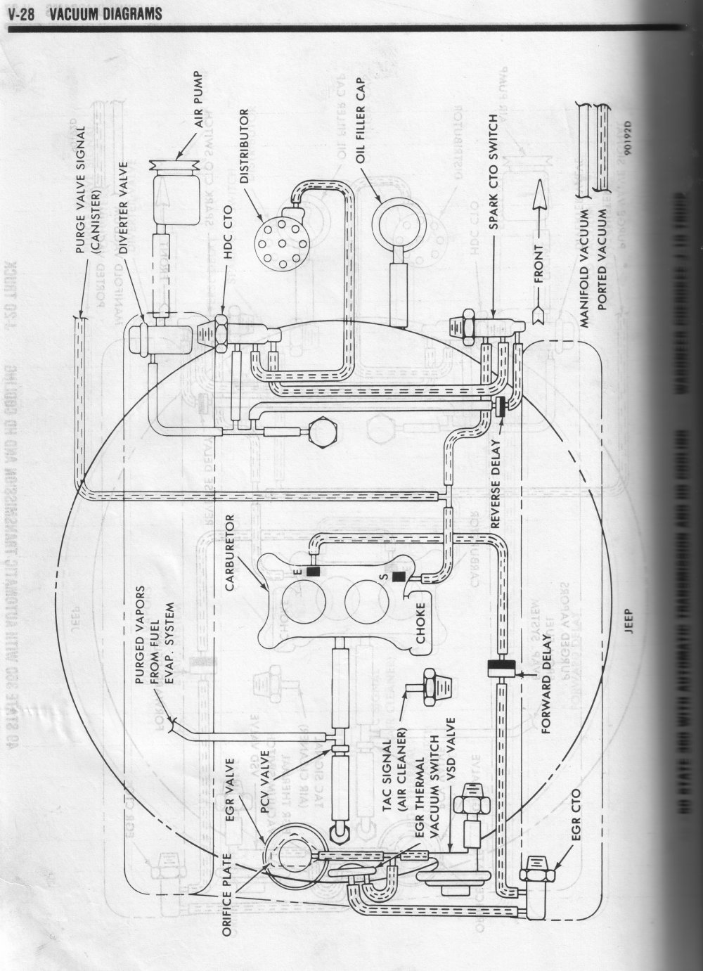 hight resolution of 60 state 360 cherokee wagoneer j10 automatic tansmission hd cooling 1980 vacuum diagrams
