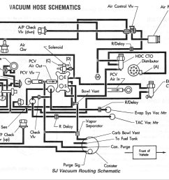 tom oljeep collins fsj vacuum layout page 1998 jeep grand cherokee vacuum diagram 1990 [ 2169 x 1631 Pixel ]
