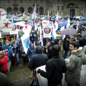 Queremos Galego en Compostela. Pola lingua que nos une (27/01/13)