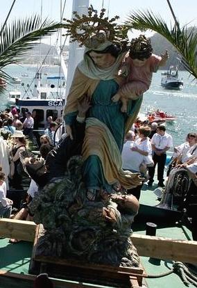 A Patrona ou Virxe do Mar