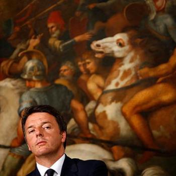 Renzi como Tsipras