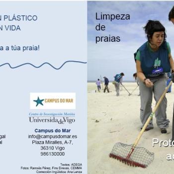 Limpeza simultánea de praias para a fin de semana do 11 de novembro