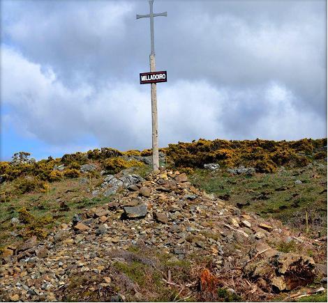 Amilladoiro cristianizado no camiño ao Santo André