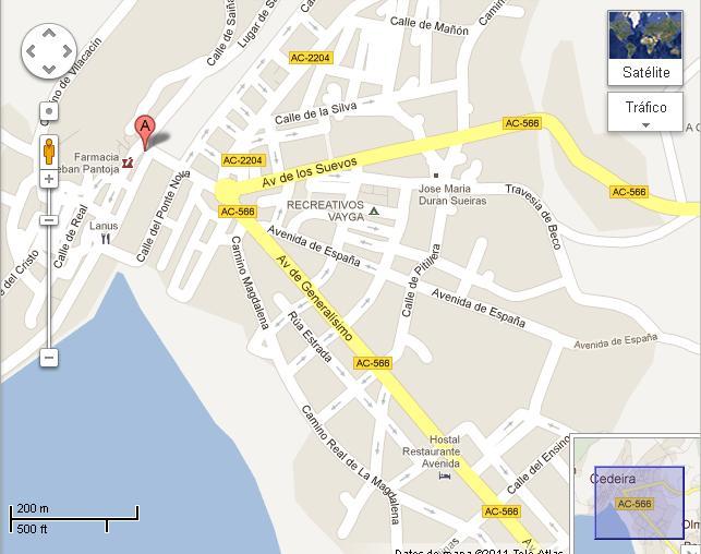 Google castelaniza e deturpa os nomes das rúas de toda Galicia