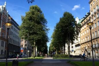 Karlavägen promenade