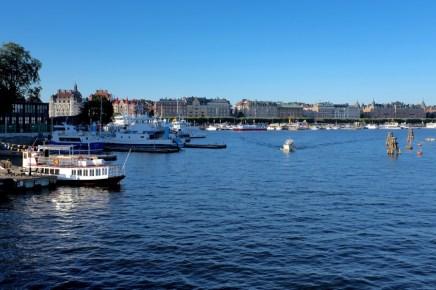 Saltsjön from Skeppsholms Bridge