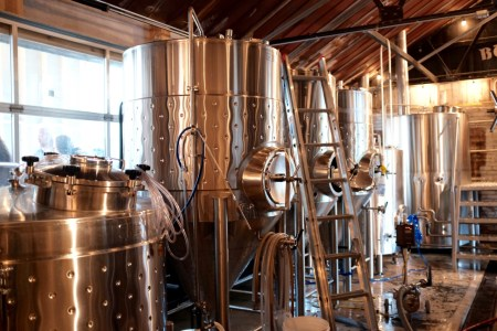 Burial brew tanks