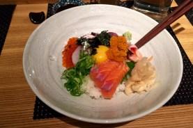 Uni chirashi at Sushi Sho