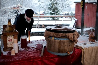 Beer brewing at Skansen