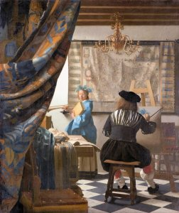 Vermeer Art of Painting via Wiki