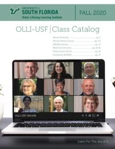 OLLI Fall 2020 Catalog cover