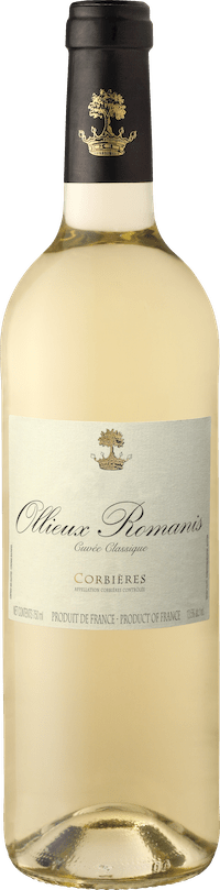The classic white wine of the ollieux family.