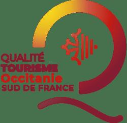 Le logo du label qualité tourisme occitanie
