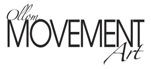 Ollom Movement Art Logo