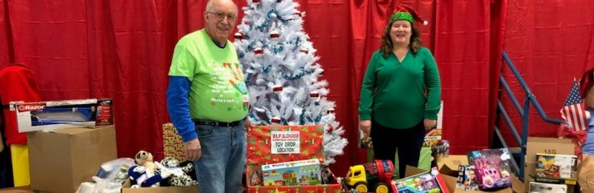 Toy donation delivery