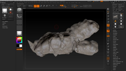 cave in zbrush dif ang