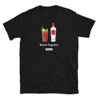 OllyJolly Better Together: Bloody Mary Crew Neck T-Shirt