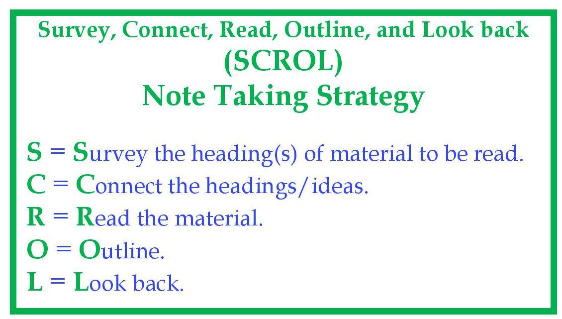 scrol strategy johns hopkins