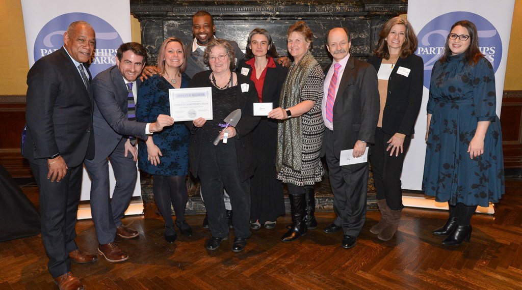 Partnerships for Parks Bright Future Award