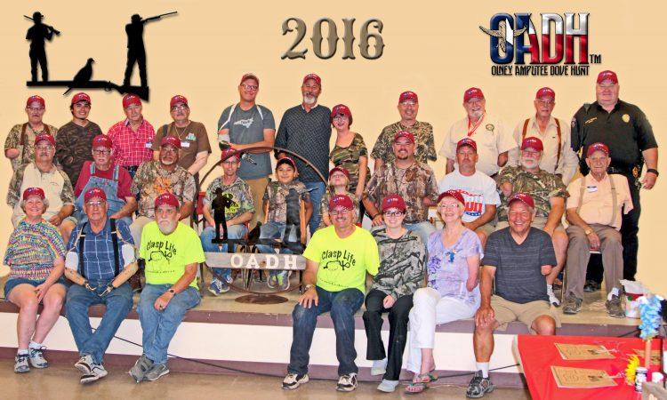 2016 OADH Group Photo