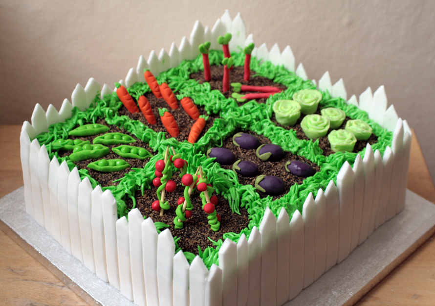 26 Best Images About торт огород On Pinterest Garden Cakes