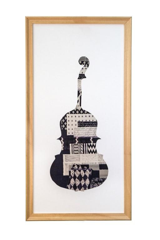 Κωνσταντινόπουλος Χρήστος, Χωρίς τίτλο, 60x30cm, collage