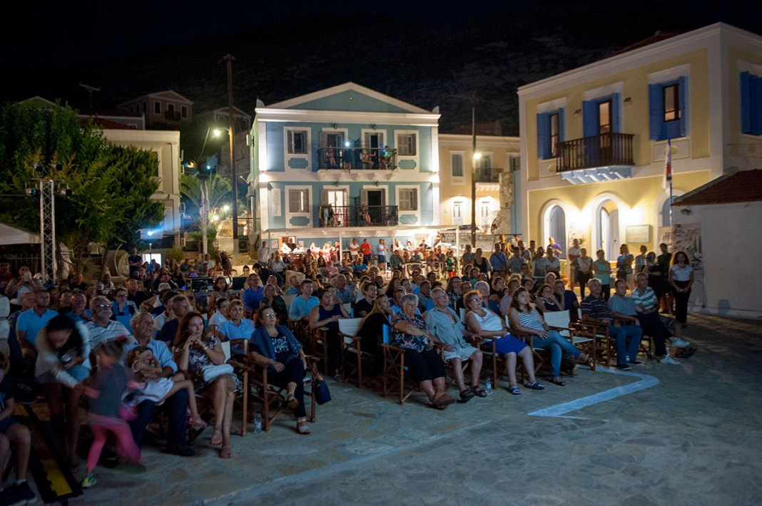 3rd International Film Festival at Kastellorizo Kastellorizo. Dodecanese. Greece. Europe. George Detsis. 08/2018.