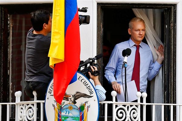 assange embassy speech