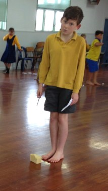 New Zealand School Barefoot Boys