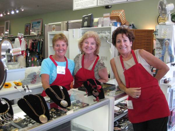 Volunteers Our Lady of Light Thrift Shop