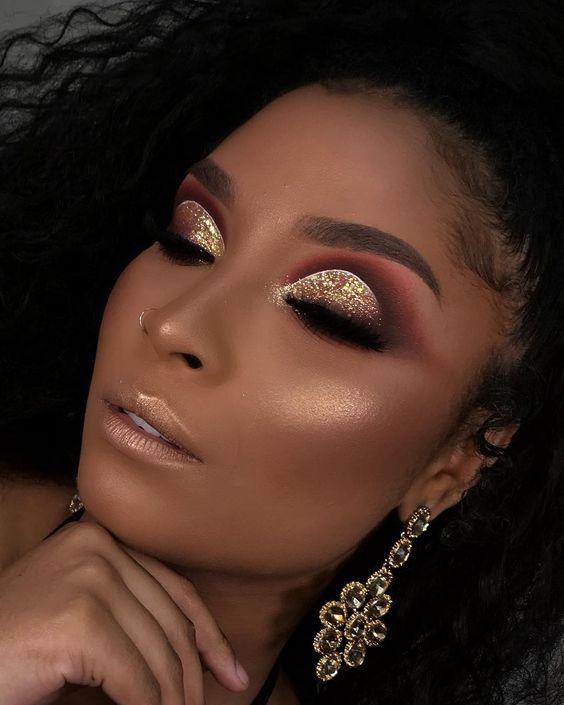 Maquiagem para Noiva 2022 Negra