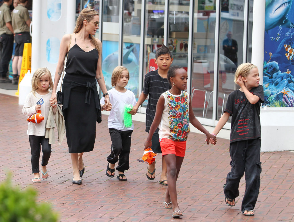 Image result for angelina jolie kids