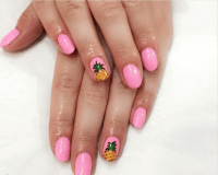 Pineapple Inspired Nail Art Designs - Photos - Olori Supergal