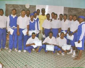 Olorunfemi Babatunde computer training in Ijaloke Grammar School