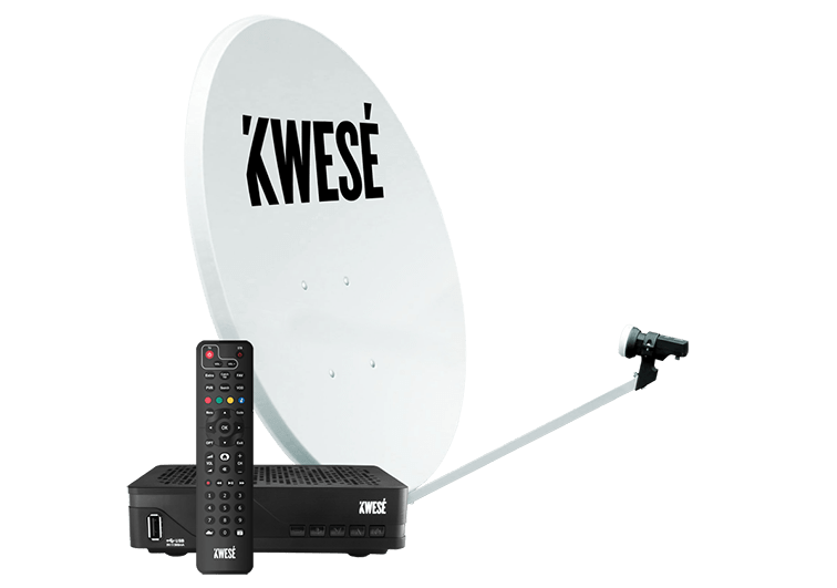 Kwesé dish and Decoder cost