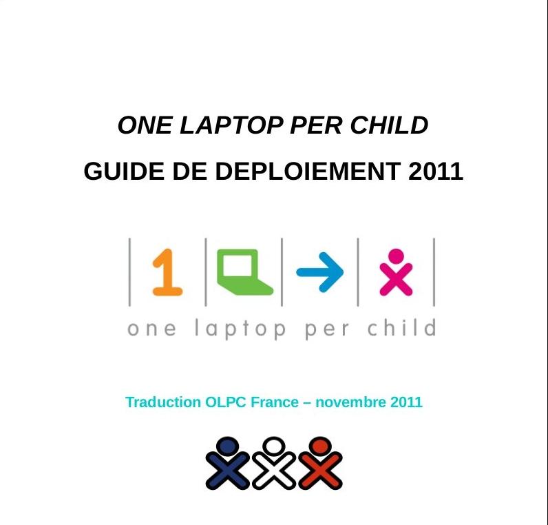 Le guide de déploiement OLPC 2011 en français