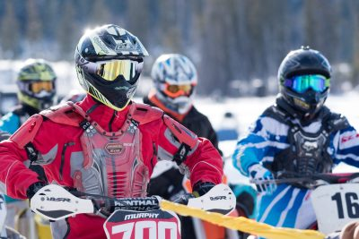 On assignemt at Stake Lake, BC for a sanctioned Motorcycle Ice Racing event