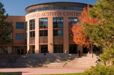 Campus Activity Centre at TRU in Kamloops