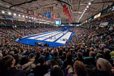 Photo assignment at the Brier curling Event in Kamloops, BC