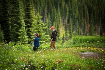 Lifestyle photoshoot at Sun Peaks Resort, BC